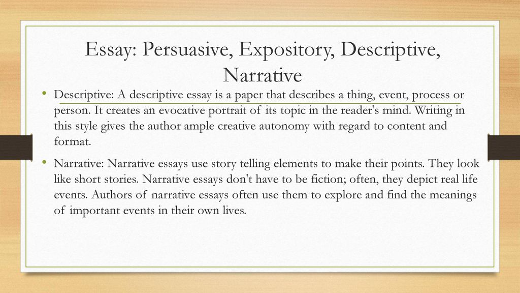 descriptive paragraph examples from books