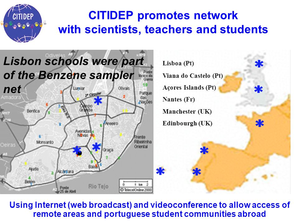 CITIDEP promotes network with scientists, teachers and students