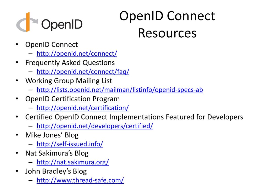 Introduction to OpenID Connect - ppt download