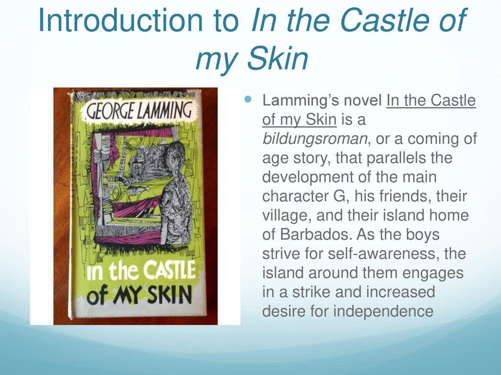 In the castle of my skin - Custom paper Sample