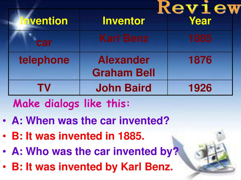 Unit 4 Amazing Science Topic 1 When was it invented ? - ppt download