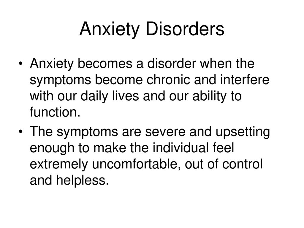 When Anxiety Becomes a Disorder When Anxiety Becomes a Disorder new photo