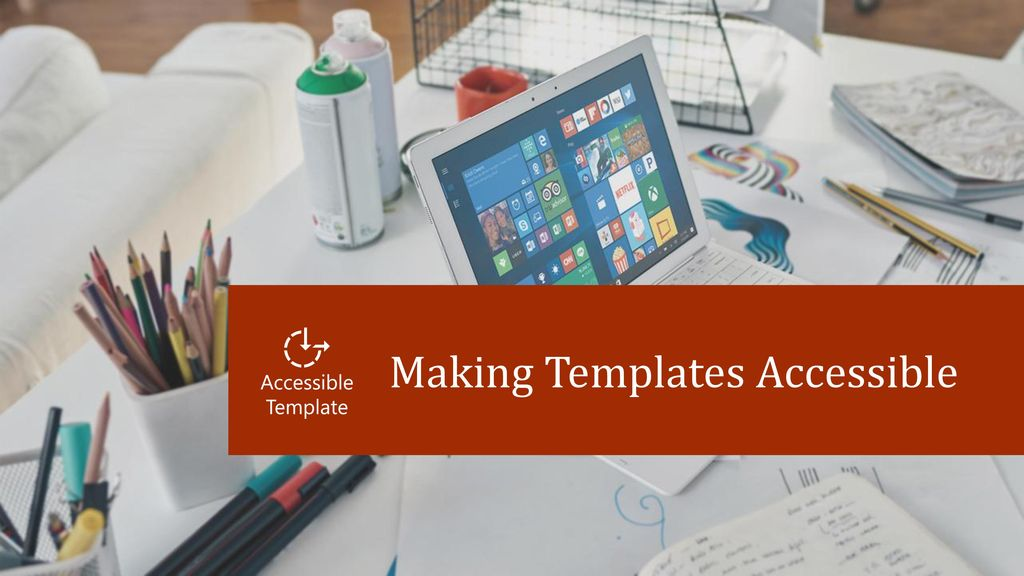 making templates accessible ppt download