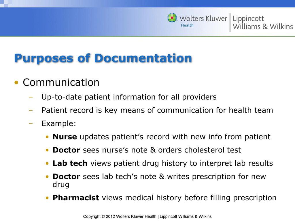 Chapter 11: Medical Documentation - ppt download