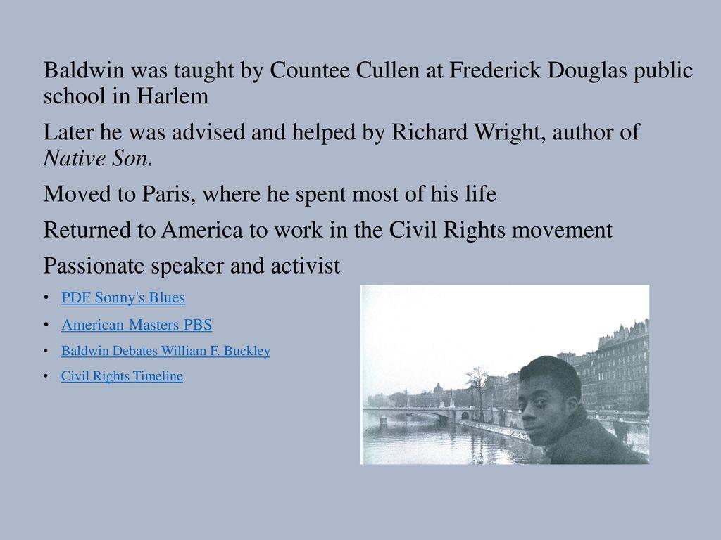 James Baldwin Documentary Excerpt Baldwin Speaks - ppt download