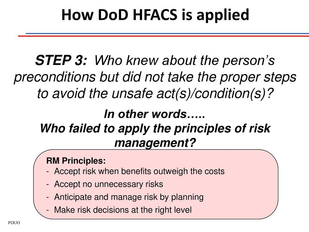DOD HFACS PDF
