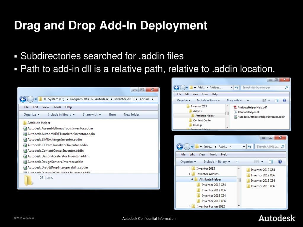 Inventor 2013 What's New in the API  - ppt download