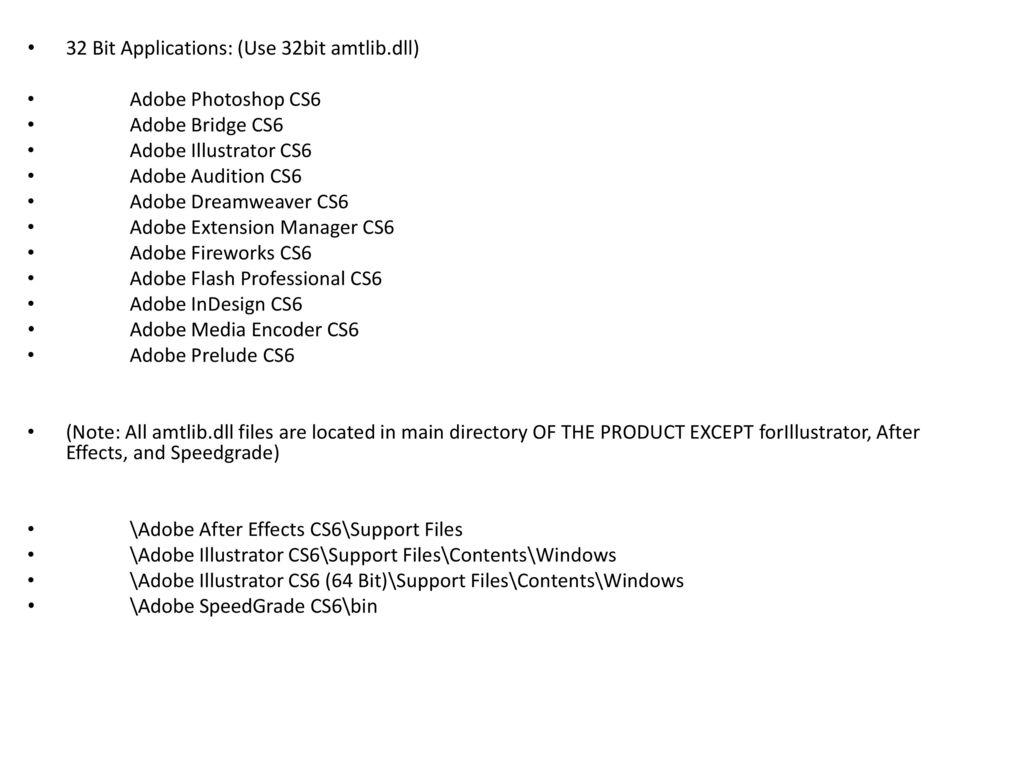 adobe dreamweaver cs6 crack dll files 32bit 64bit