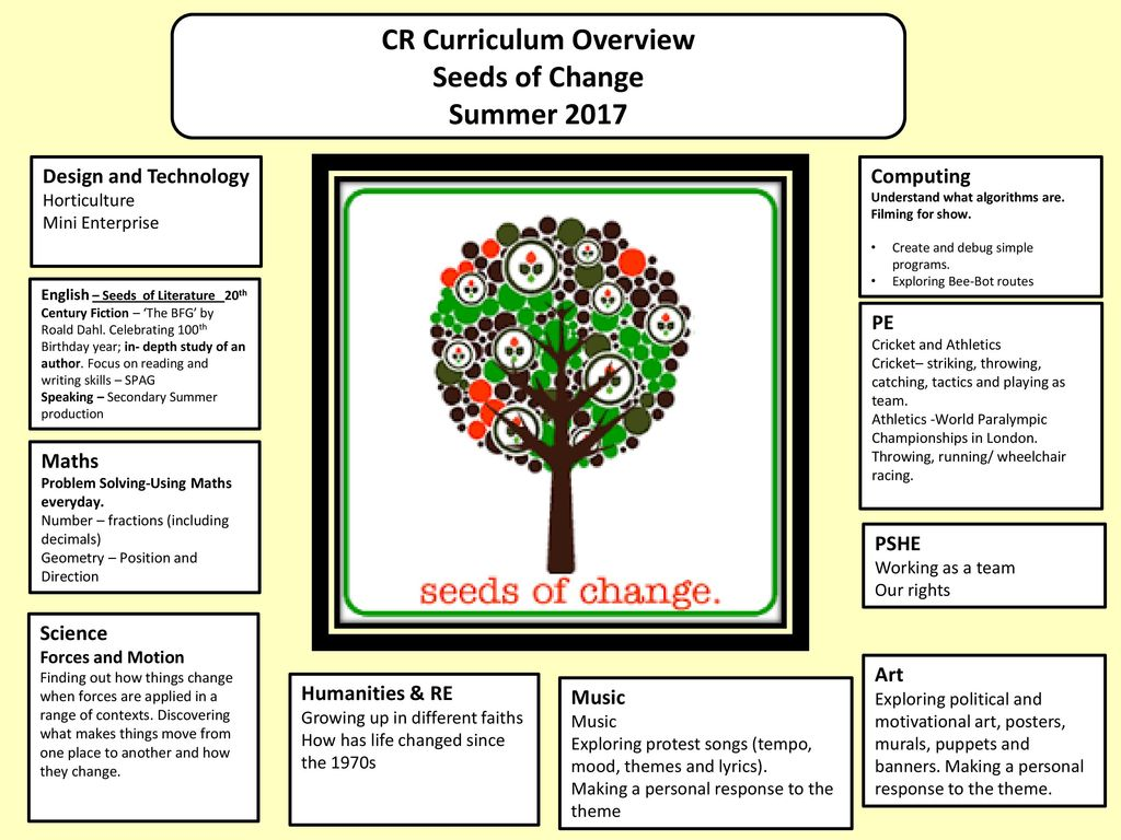 CR Curriculum Overview - ppt download