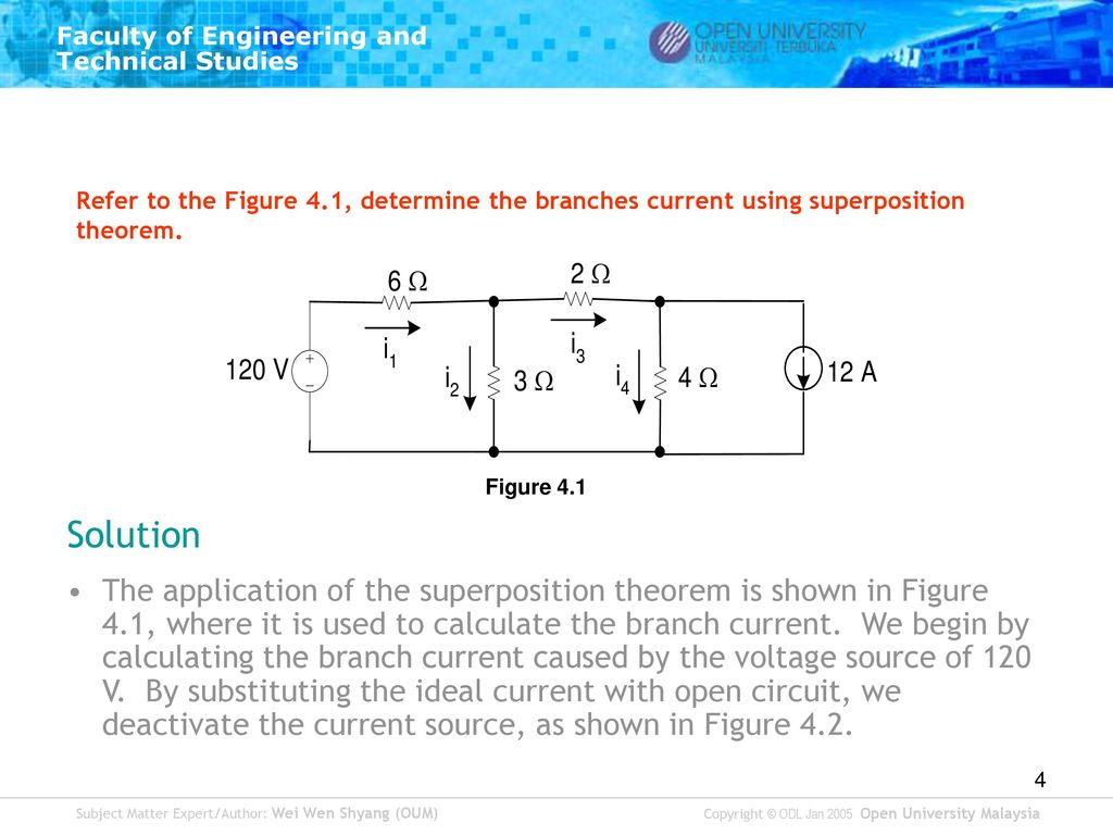 circuit theory tutorial 2 topic 4 network theorem ppt download rh slideplayer com