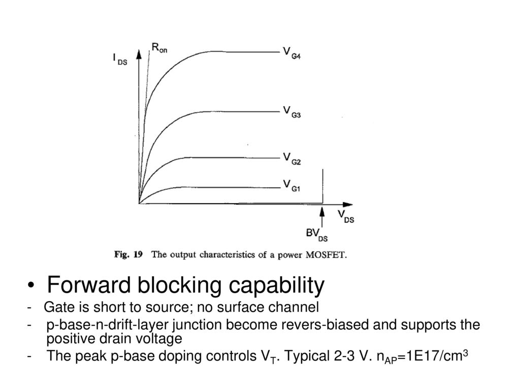 Lecture 12 Power Devices 2 Ppt Download V Groove Mos Vmos 4 Forward Blocking Capability