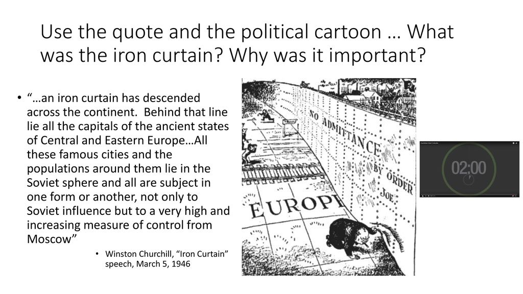 winston churchill iron curtain quote