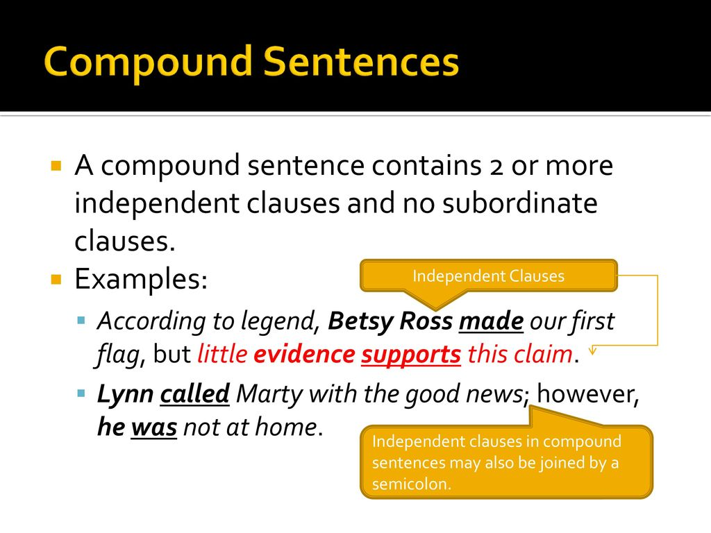 The Four Basic Sentence Structures - ppt download