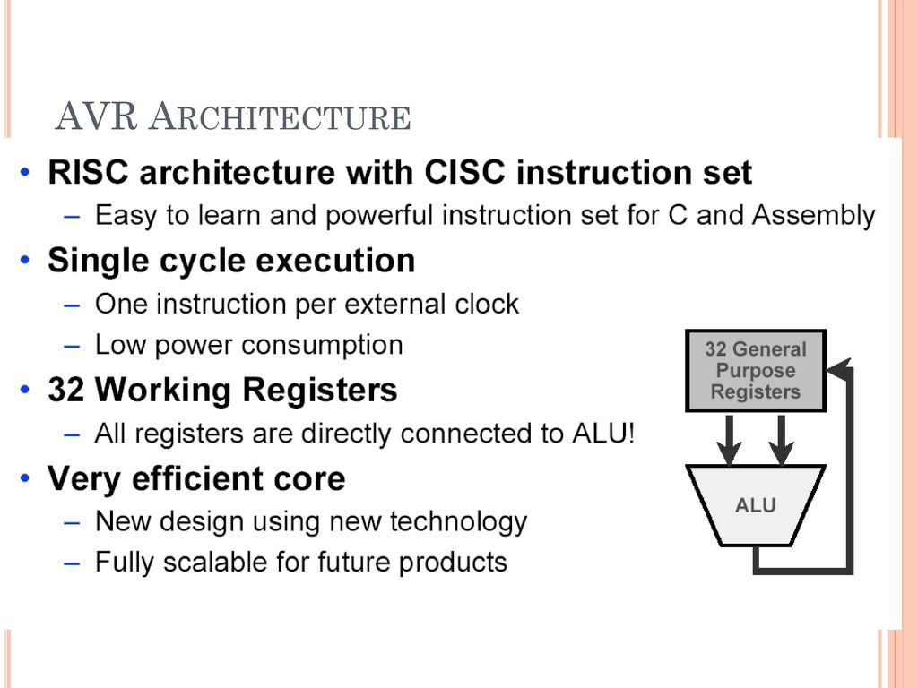 Bits Edu Campus Varnama Ppt Download How To Configure Watchdog Timers Of Avr Microcontroller Atmega16 7 Architecture
