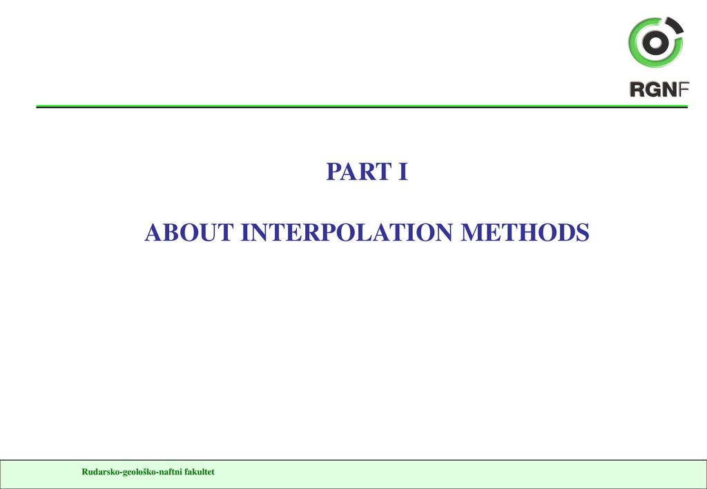 Subsurface mapping, deterministics and volumes - ppt download