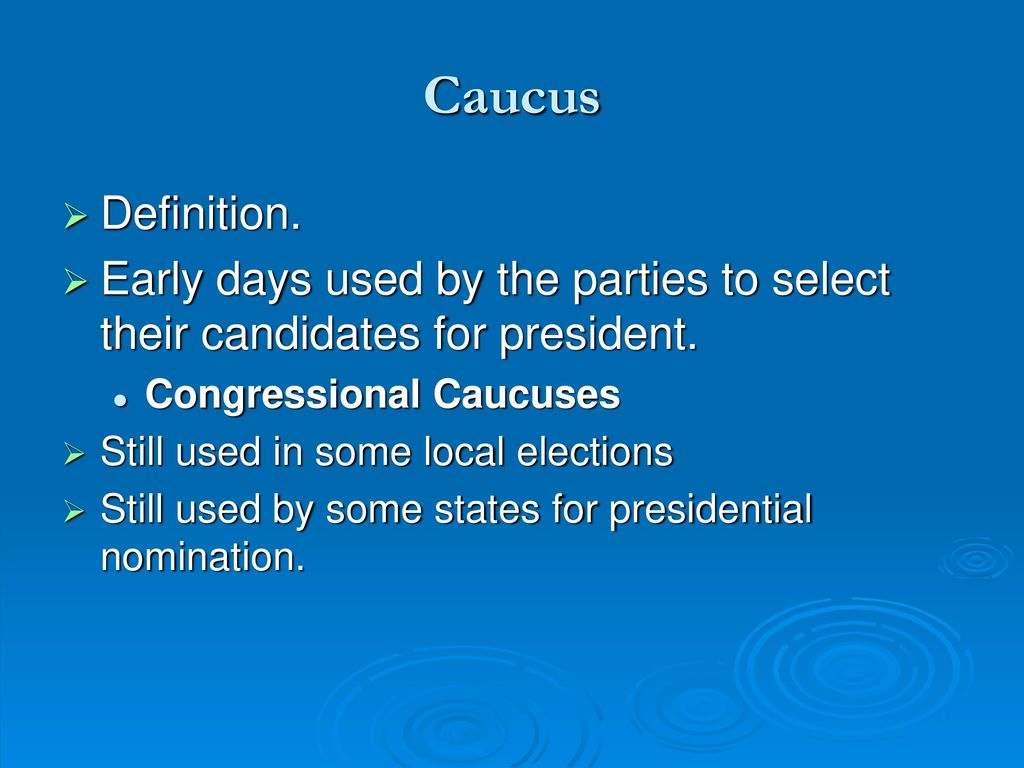 the electoral process chapter ppt download