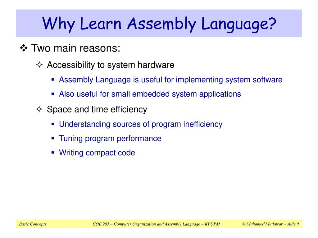 Microprocessor and Assembly Language - ppt download