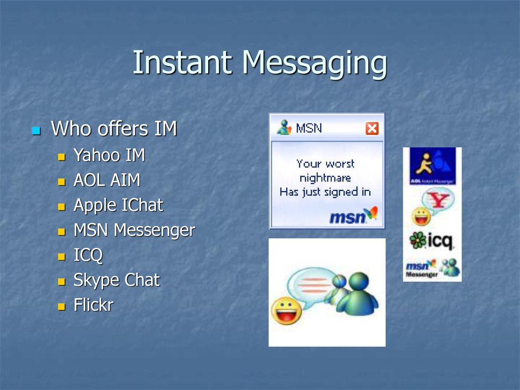 What is instant messaging? - ppt download