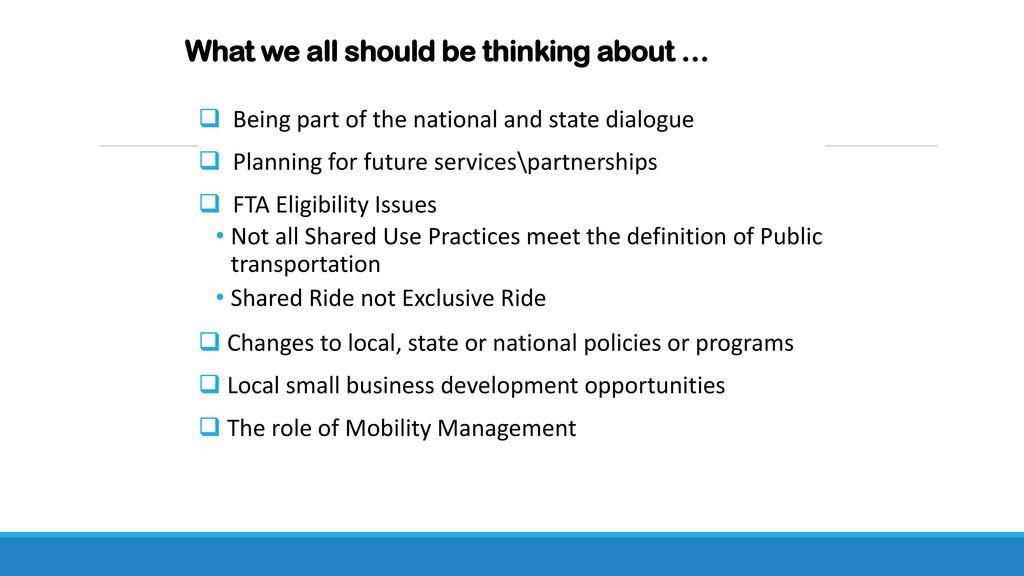 MDOT Presentation – 2017 Michigan Public Transportation