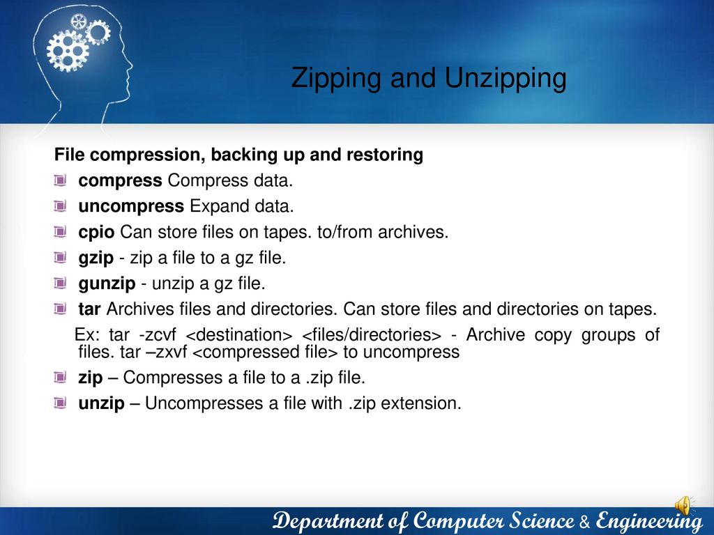 Unzip Gz File Linux