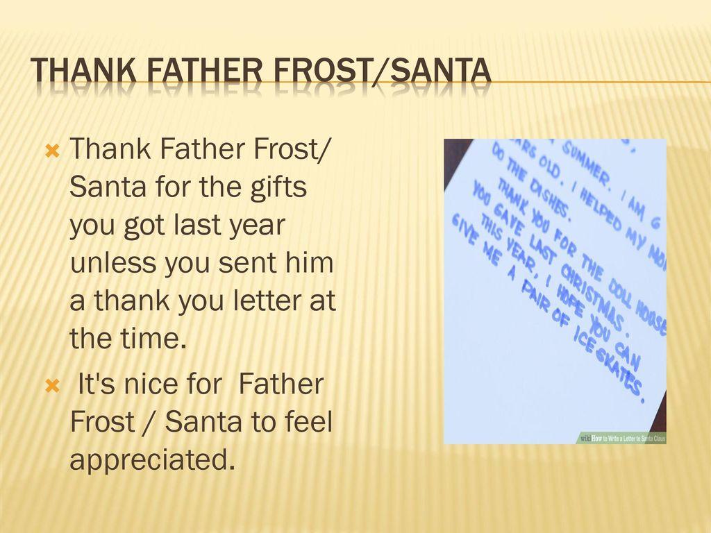 6 thank father frostsanta
