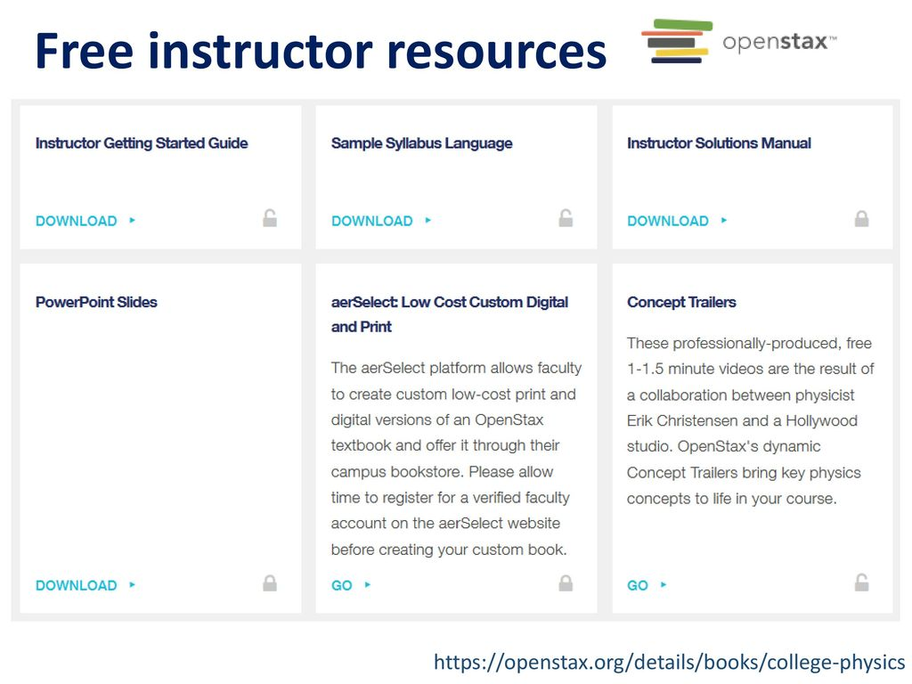 Using open textbooks to transform student learning ppt download free instructor resources fandeluxe Image collections