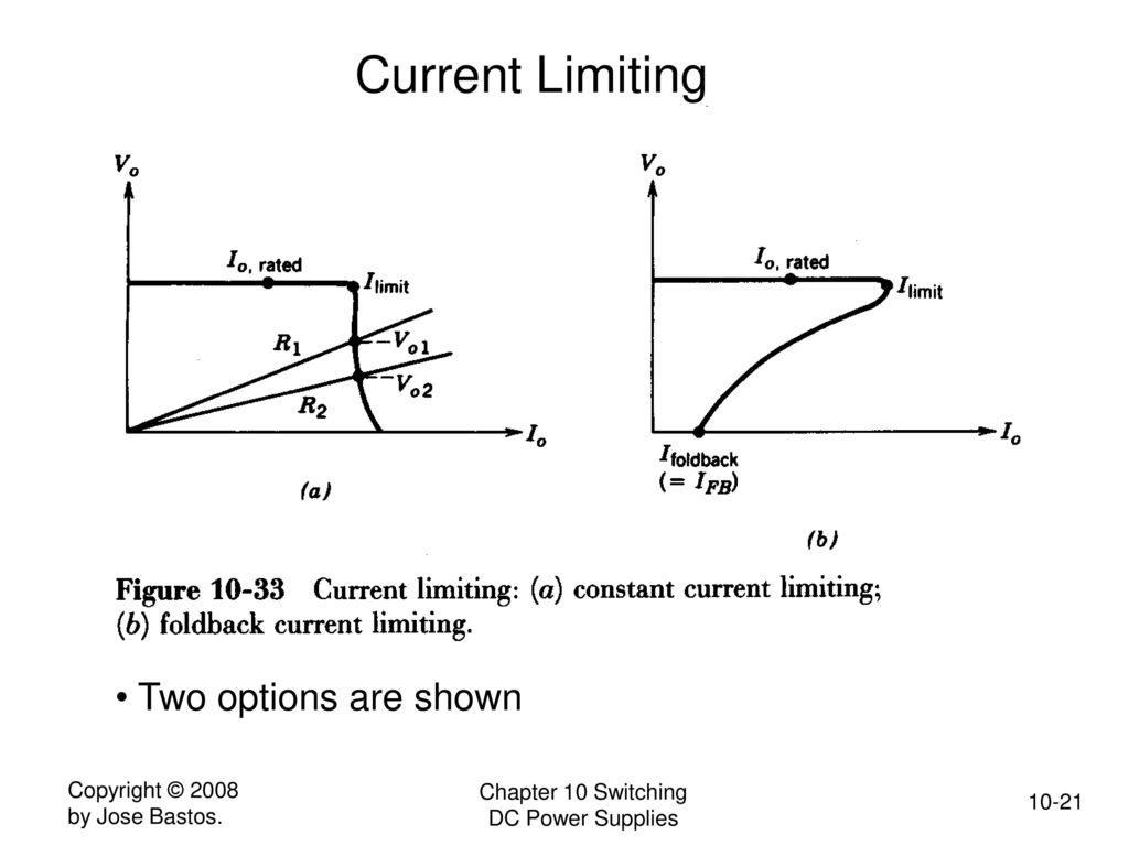 Switching Dc Power Supplies Ppt Download Current Limiting Supply 21