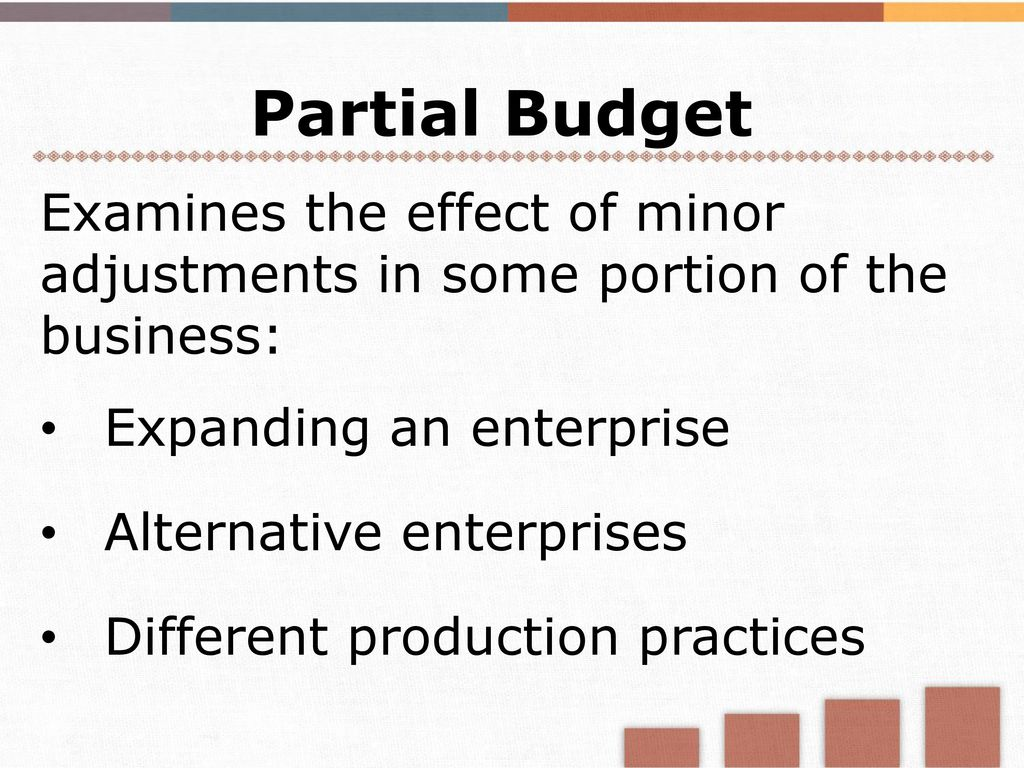 Module 3 Introduction To Budgets And Financial Statements Ppt