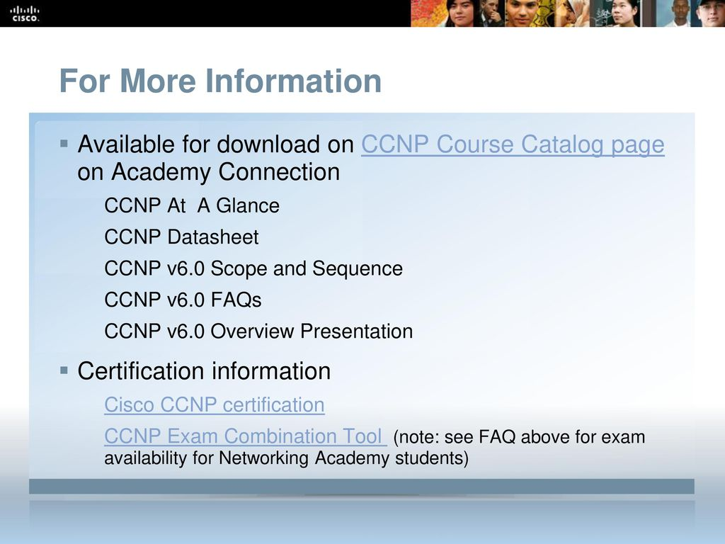 Cisco Networking Academy - ppt download