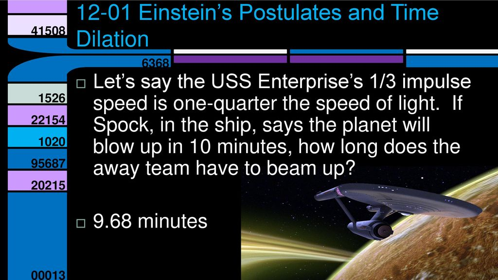 Special Relativity Unit 12 Physics Unit ppt download
