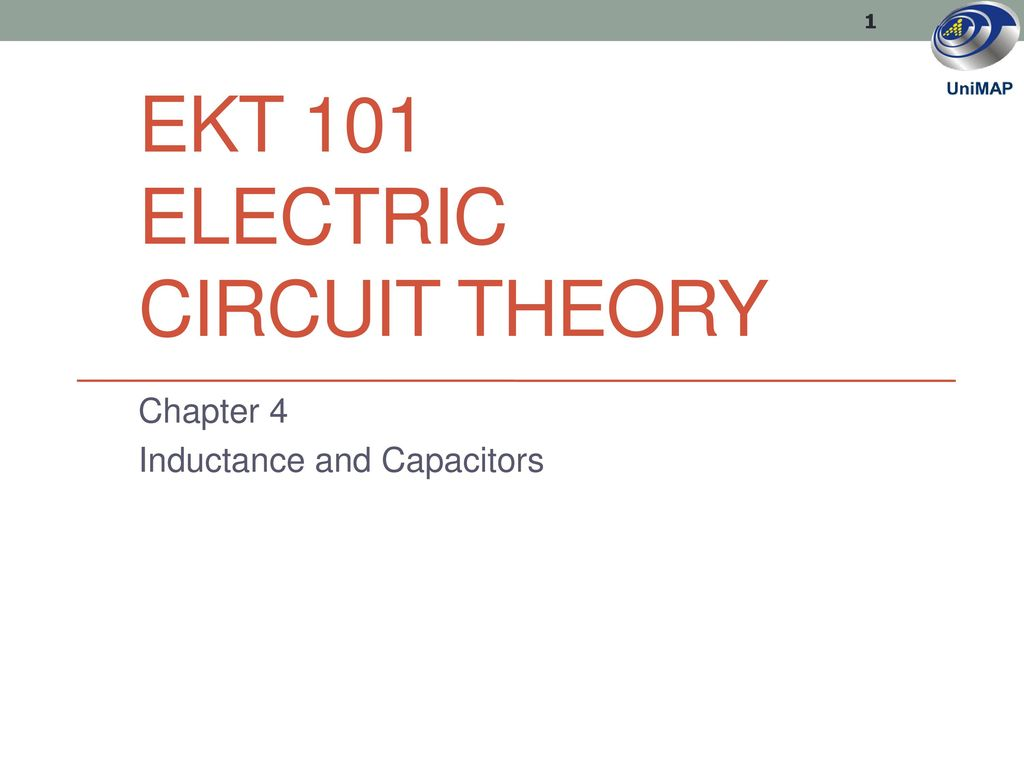 Ekt 101 Electric Circuit Theory