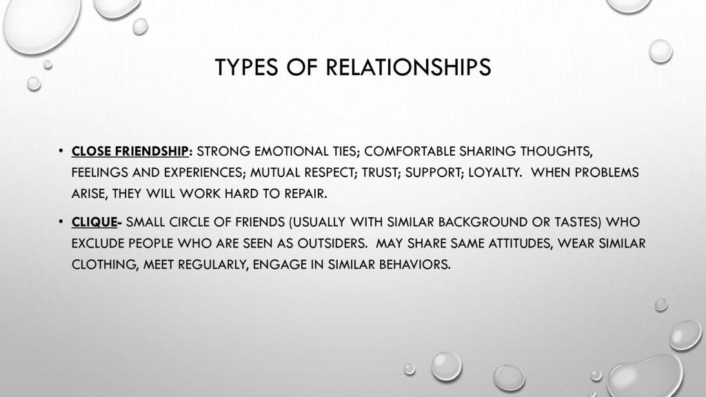 Peer relationships Chapter ppt download