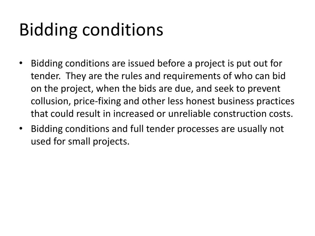 CONTRACT DOCUMENTS  - ppt download
