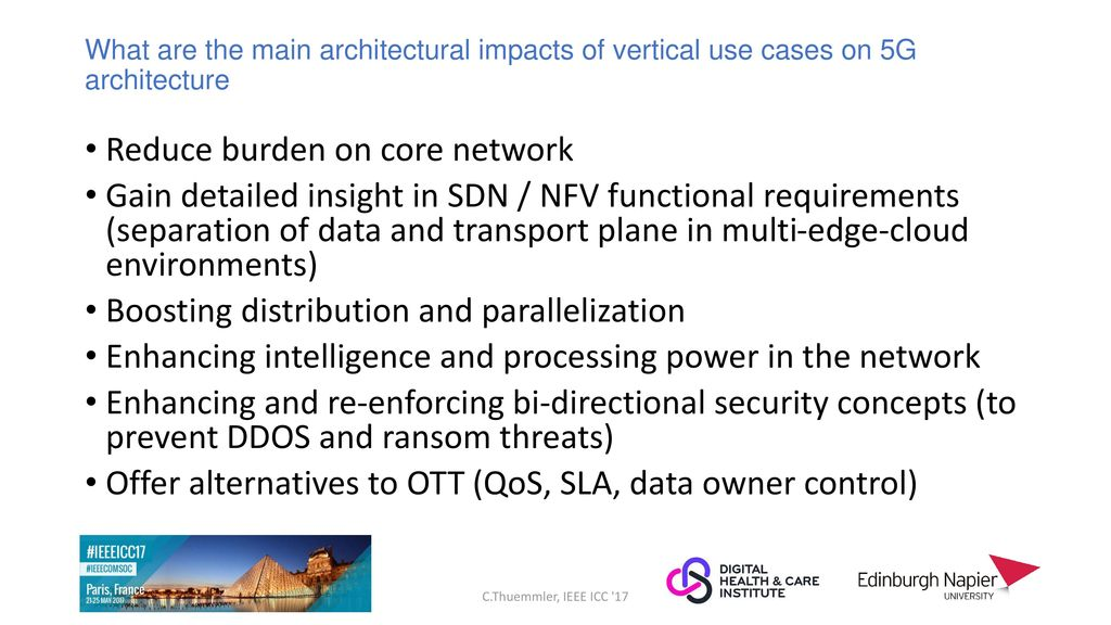 5G: What Architecture to Serve Vertical Industries? - ppt