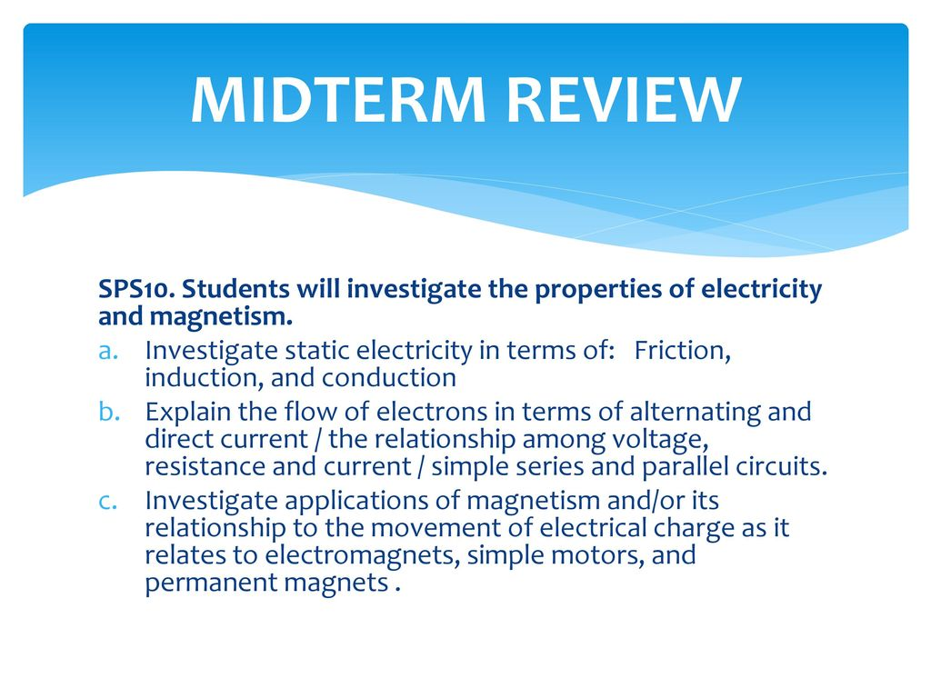 Motion Forces And Waves Ppt Download Simple Series Parallel Circuit 48 Midterm