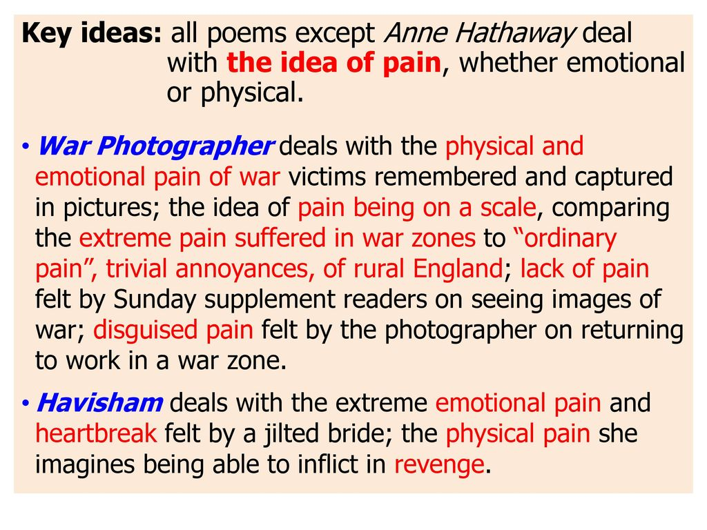 Duffy Poetry National 5 / Higher Revision - ppt download