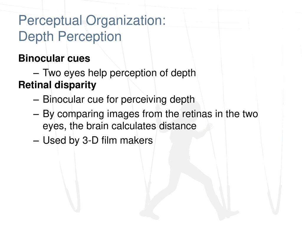 vision: sensory and perceptual processing - ppt download