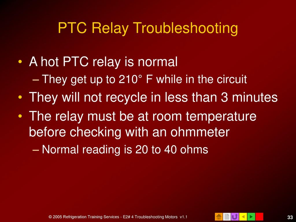 E2 Motors And Motor Starting Ppt Download Relay Circuit Troubleshooting Ptc