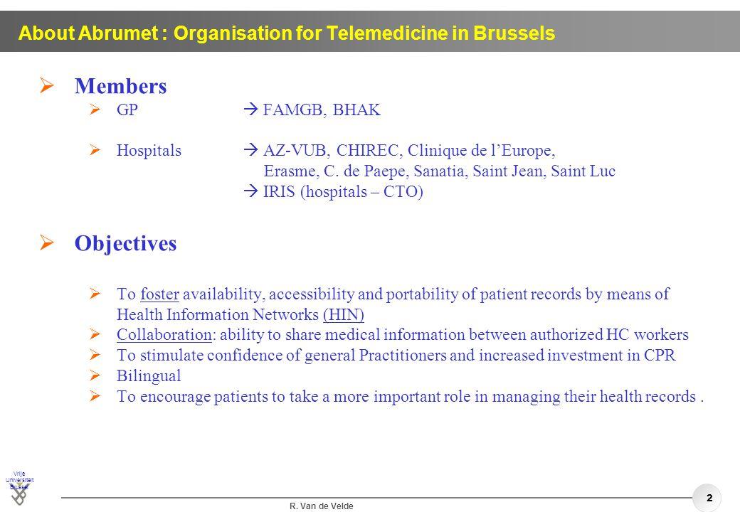 University Hospital Brussels - ppt download