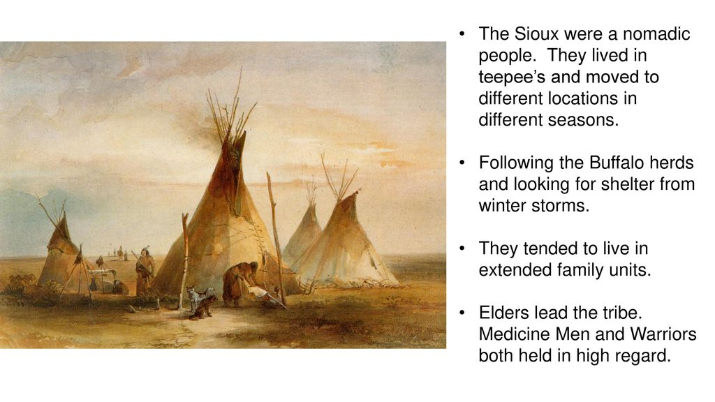 Central to the Plain's Indians way of life was the Buffalo