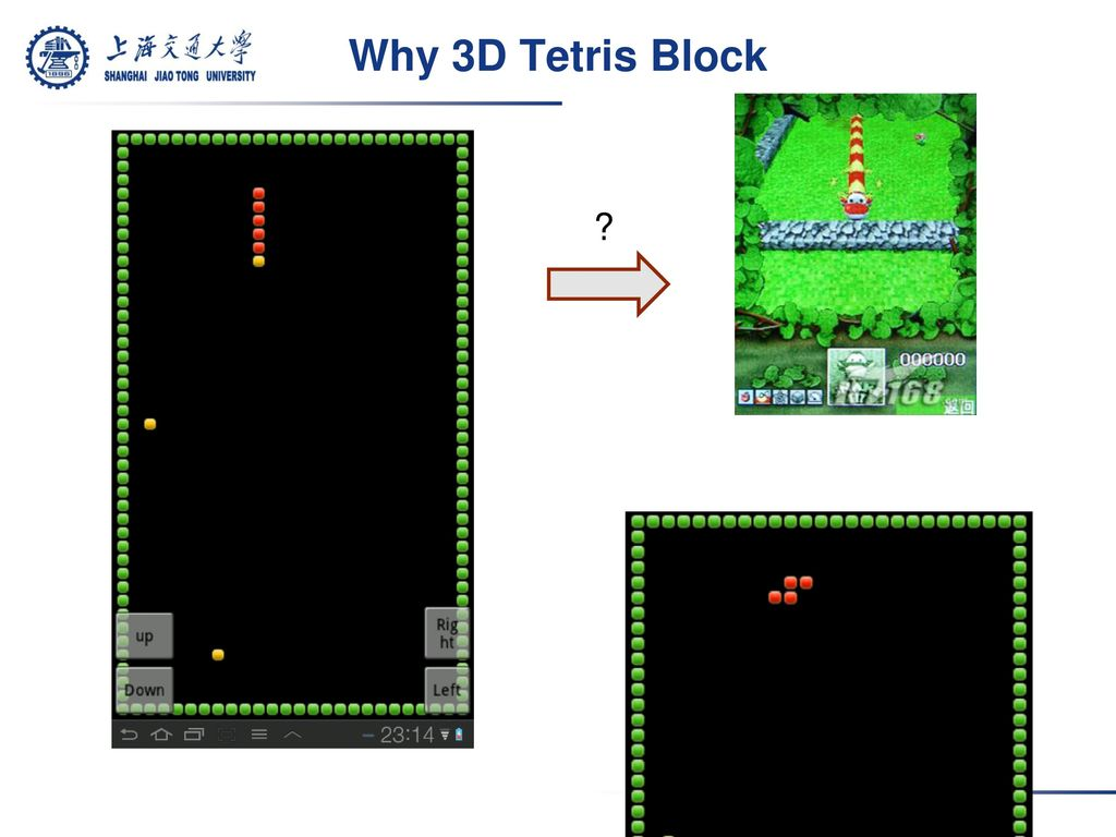 3D Tetris Game on Android OS - ppt download