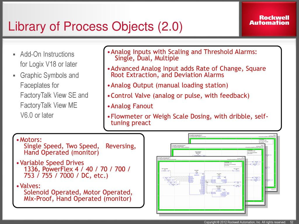 Using the PlantPAx Library of Process Objects - ppt download