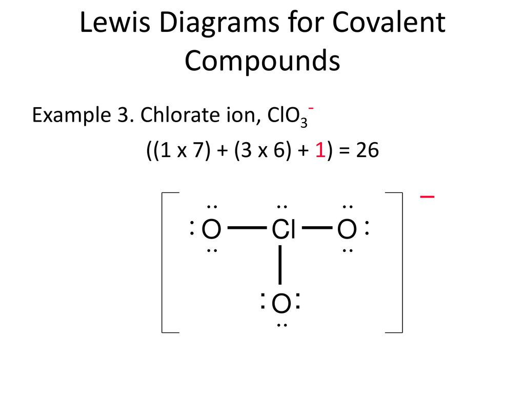4 1 Lewis Theory Of Bonding Ppt Download Find total number of electrons of the valance shells of chlorine and oxygen atoms and including charge of the anion. 4 1 lewis theory of bonding ppt download