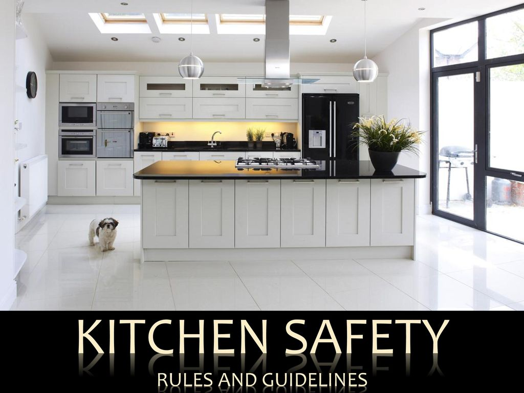 1 kitchen safety rules and guidelines