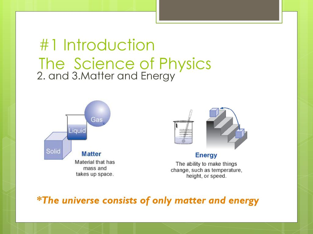 1 Introduction Notes 1 1 The Science of Physics - ppt download