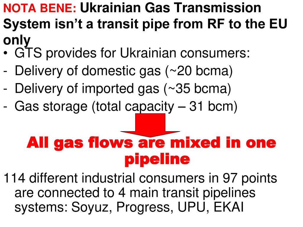 Ukrainian Gas Transmission System and Energy Security - ppt