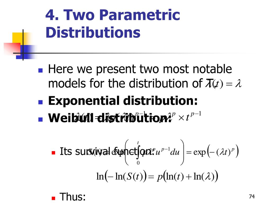 Overview What is survival analysis? Terminology and data structure
