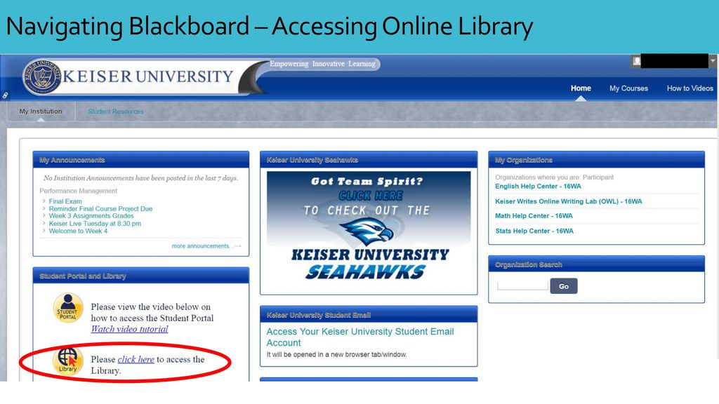 Keiser University Email >> Online Student Orientation Ppt Download