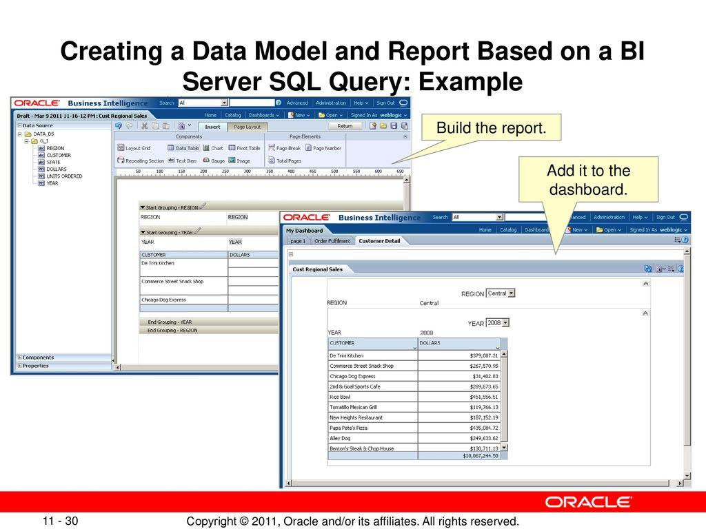Integrating BI Publisher with Oracle BI Enterprise Edition - ppt