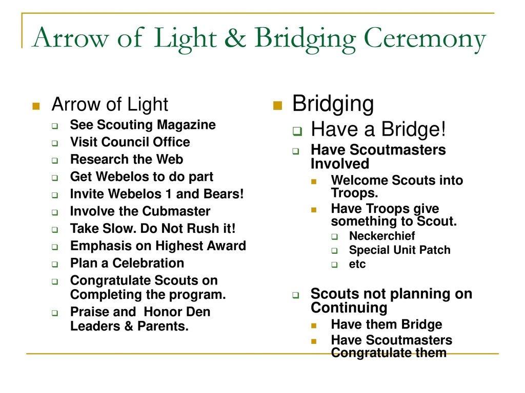 Webelos To Boy Scout Transition Ppt Download